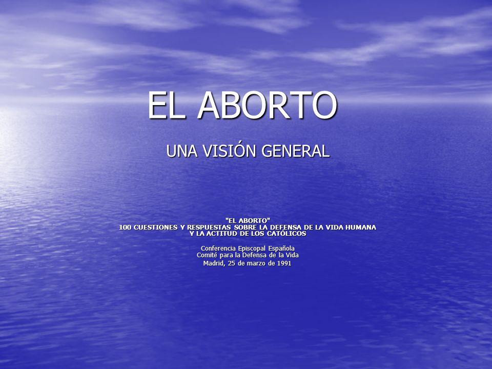 Conferencia Episcopal Española Comité para la Defensa de la Vida