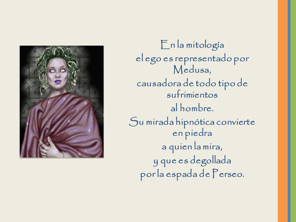 el ego es representado por Medusa,