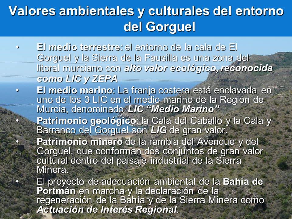 Valores ambientales y culturales del entorno del Gorguel