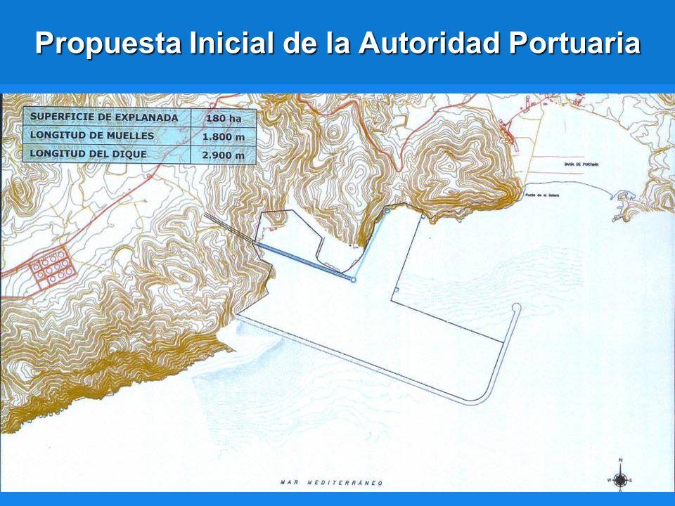 Propuesta Inicial de la Autoridad Portuaria