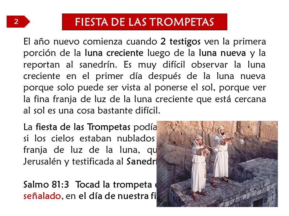 FIESTA DE LAS TROMPETAS