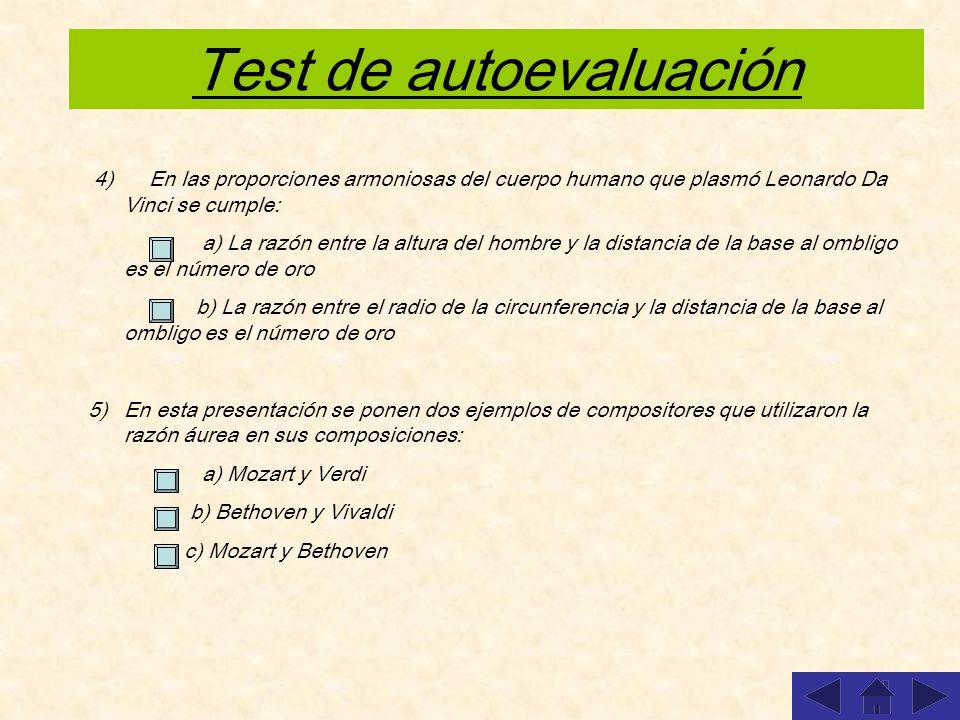 Test de autoevaluación