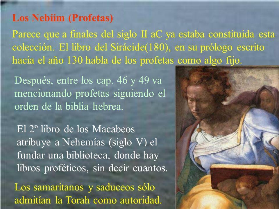 Los Nebiim (Profetas)