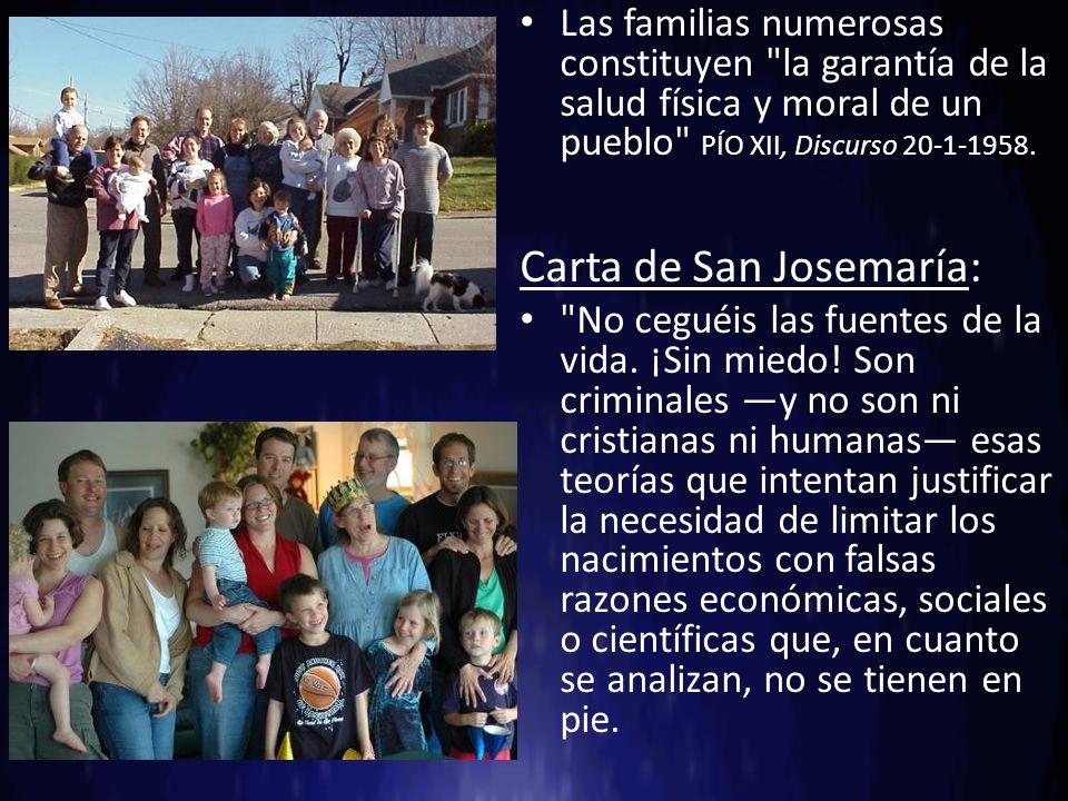 Carta de San Josemaría: