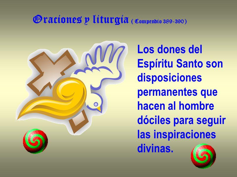 Oraciones y liturgia ( Compendio 389-390 )
