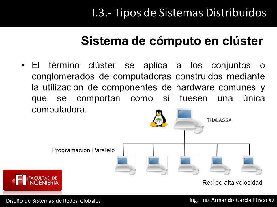 Un sistema distribuido de computo es una colección de ... - photo#40