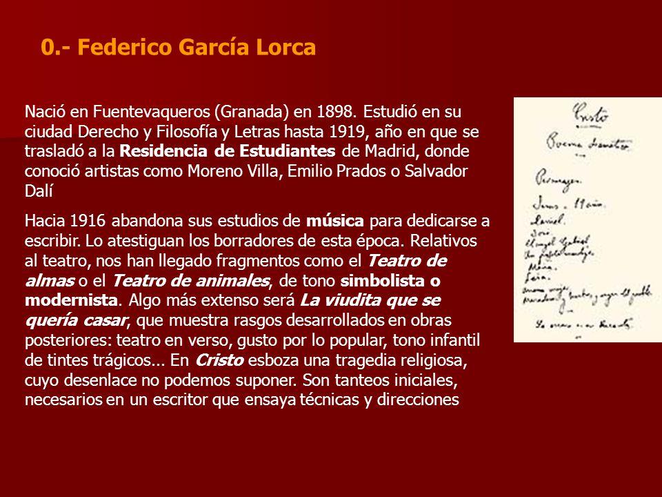 0.- Federico García Lorca