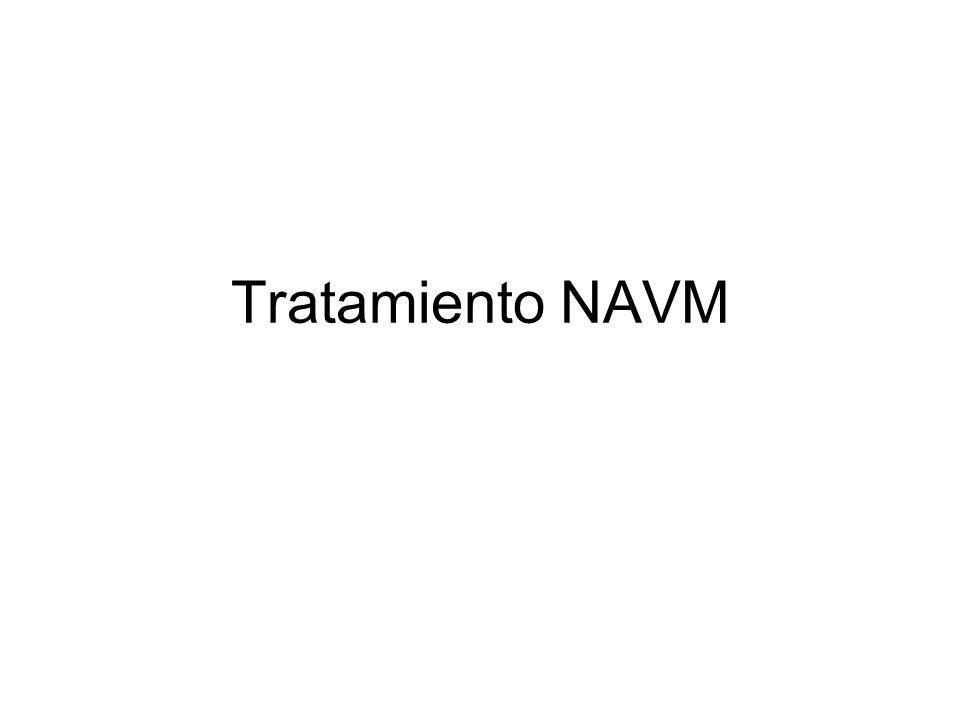 Tratamiento NAVM Aspectos generales de las neumonías asociadas a ventilación mecánica.