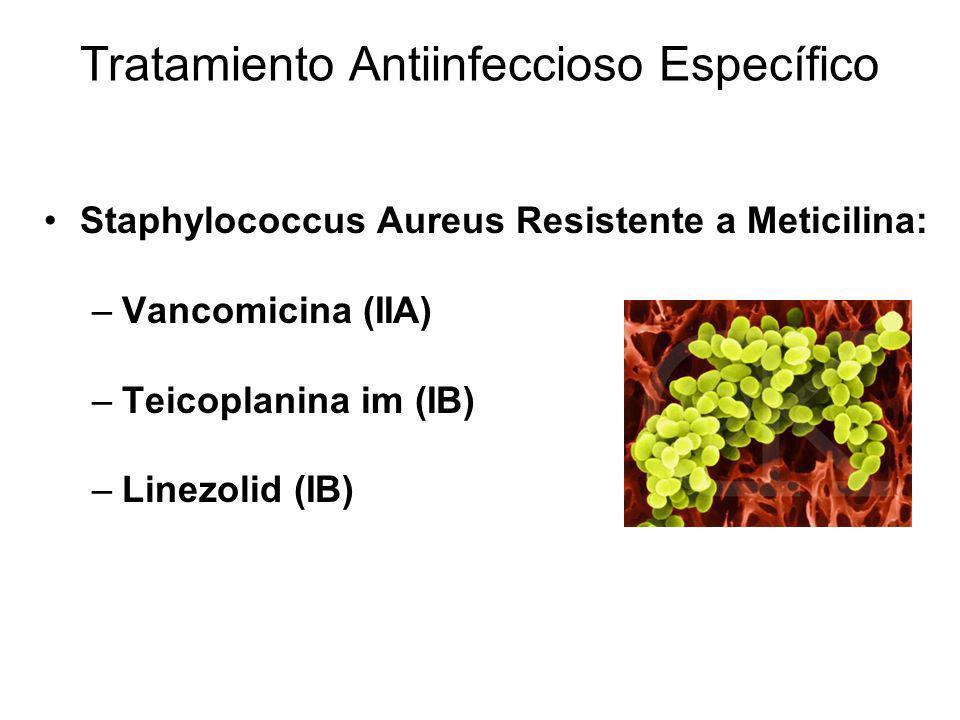Tratamiento Antiinfeccioso Específico
