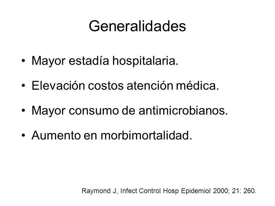Generalidades Mayor estadía hospitalaria.