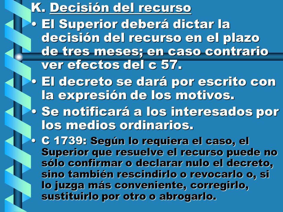 El decreto se dará por escrito con la expresión de los motivos.