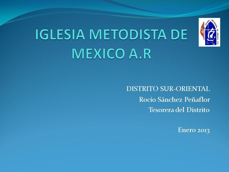 IGLESIA METODISTA DE MEXICO A.R
