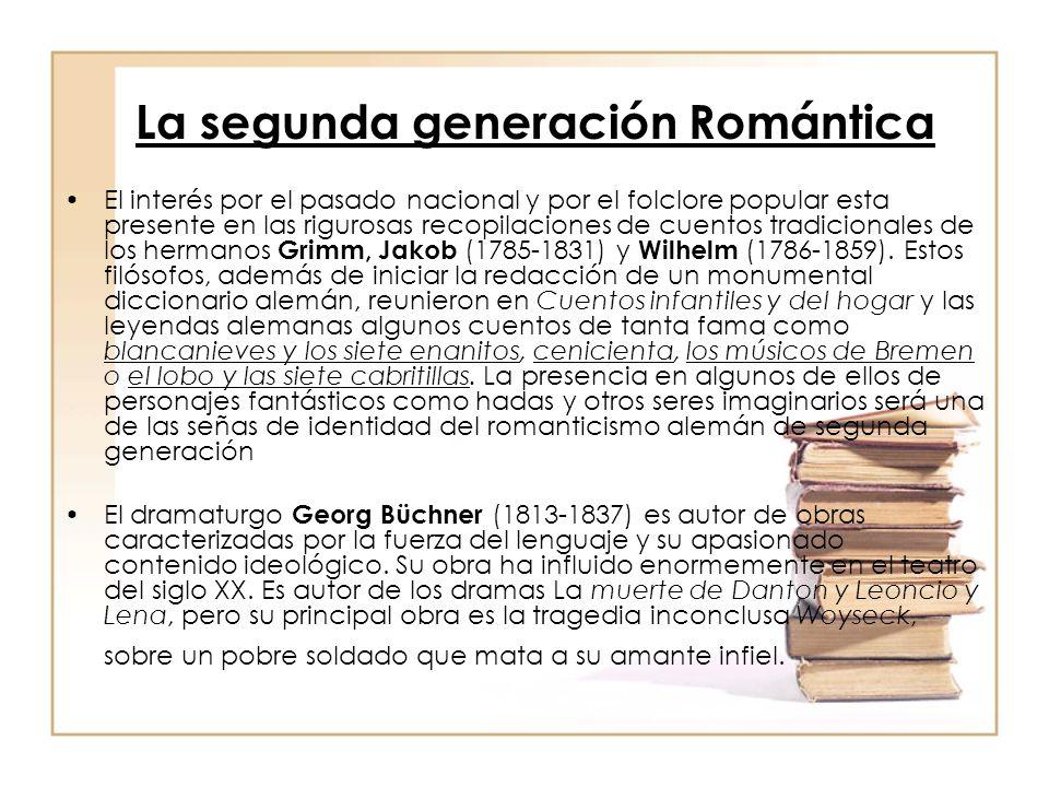 La segunda generación Romántica