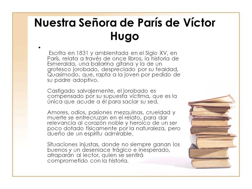 Nuestra Señora de París de Víctor Hugo