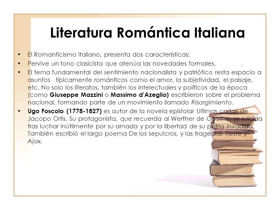 Literatura Romántica Italiana