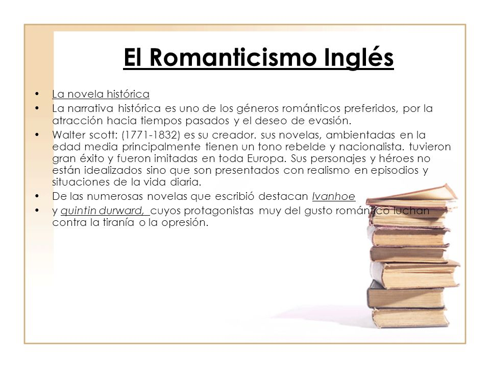 El Romanticismo Inglés