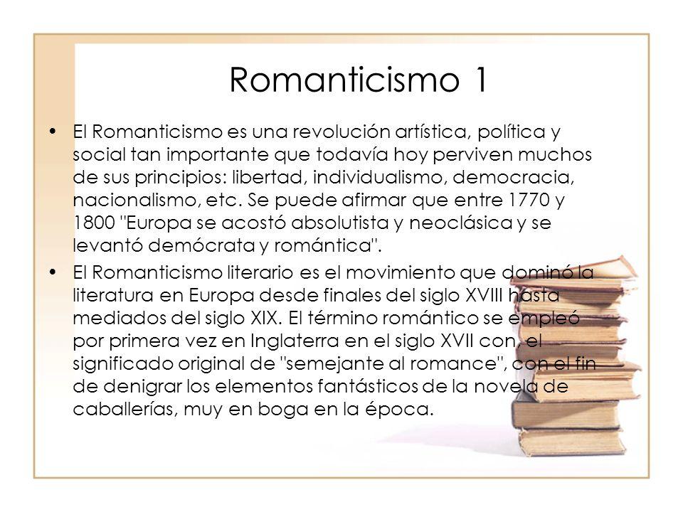 Romanticismo 1