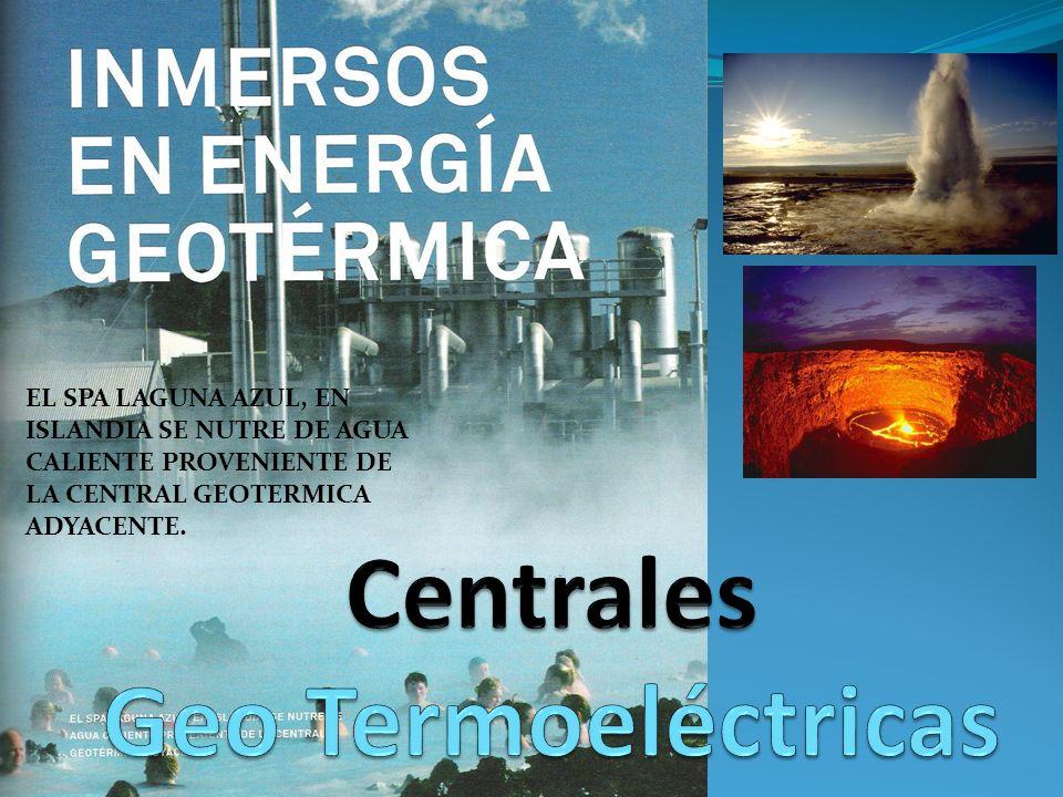 Centrales Geo Termoeléctricas