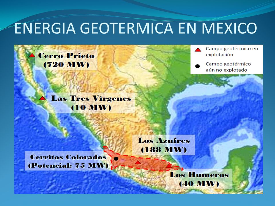 ENERGIA GEOTERMICA EN MEXICO