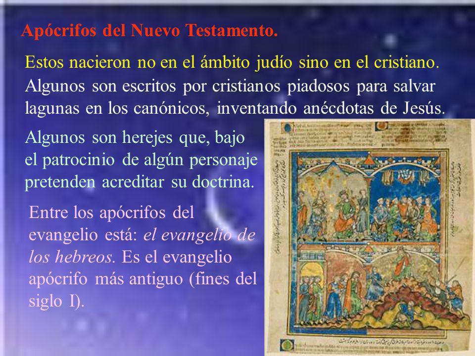 Apócrifos del Nuevo Testamento.