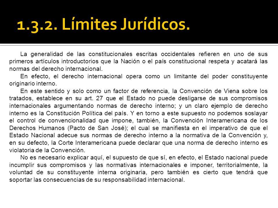 1.3.2. Límites Jurídicos.