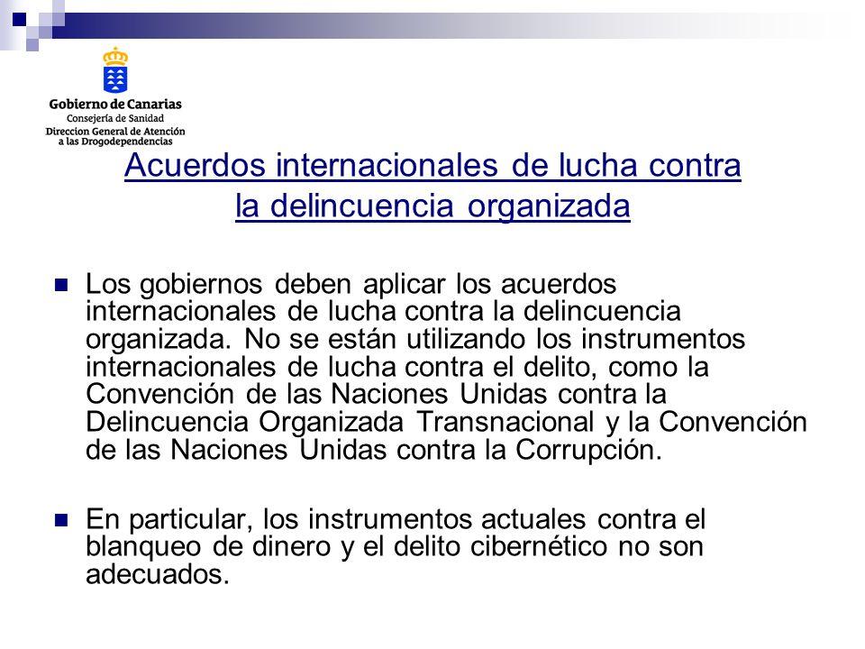 Acuerdos internacionales de lucha contra la delincuencia organizada