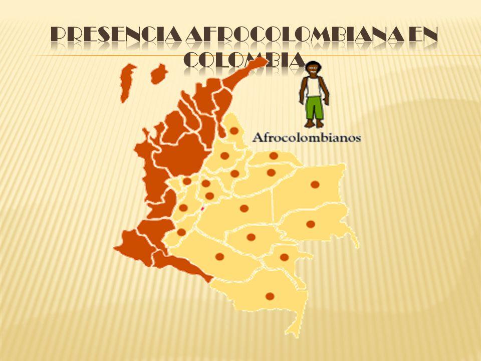 Presencia Afrocolombiana en Colombia