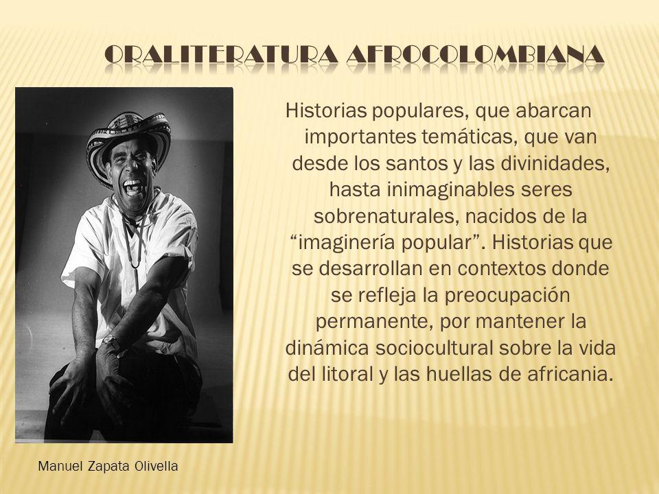 Oraliteratura afrocolombiana