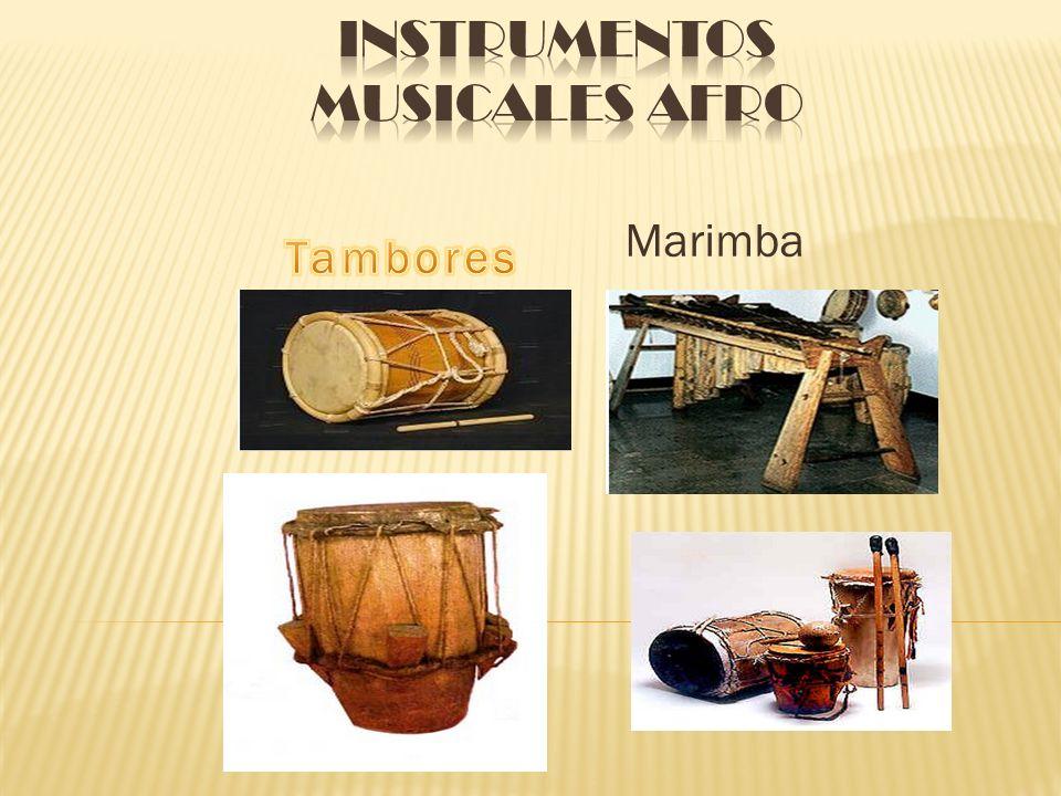 Instrumentos Musicales Afro