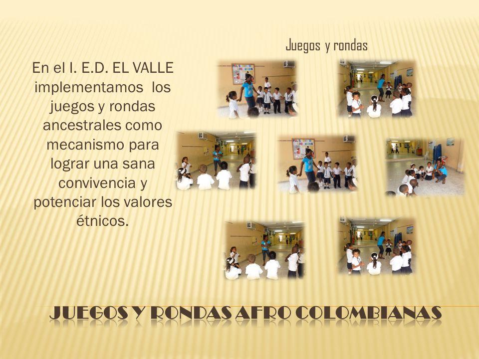 Juegos y rondas afro colombianas