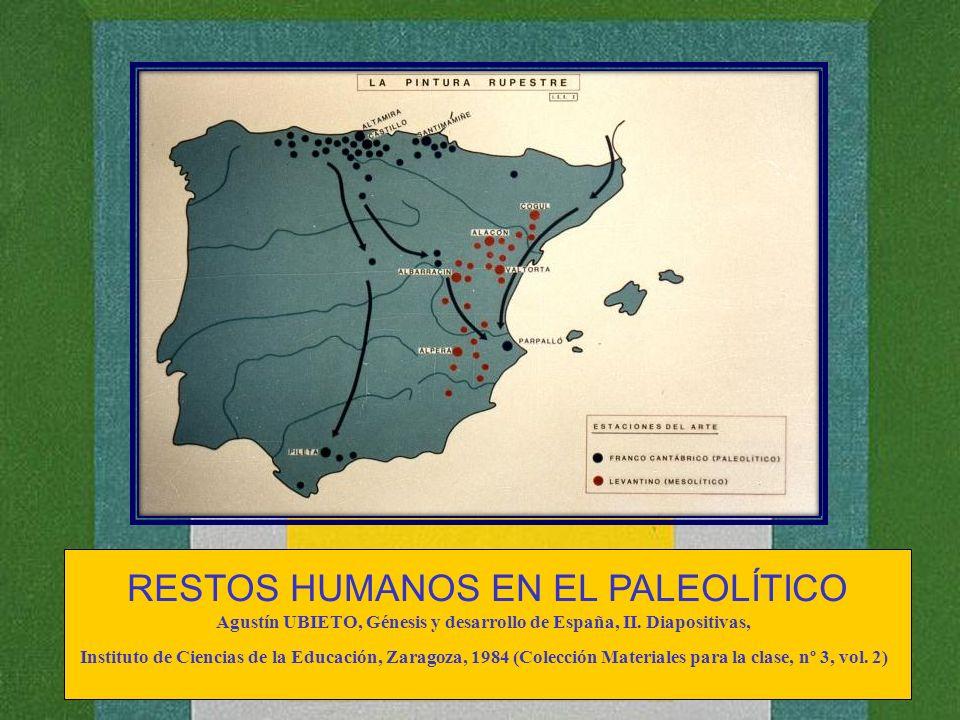 Agustín UBIETO, Génesis y desarrollo de España, II. Diapositivas,