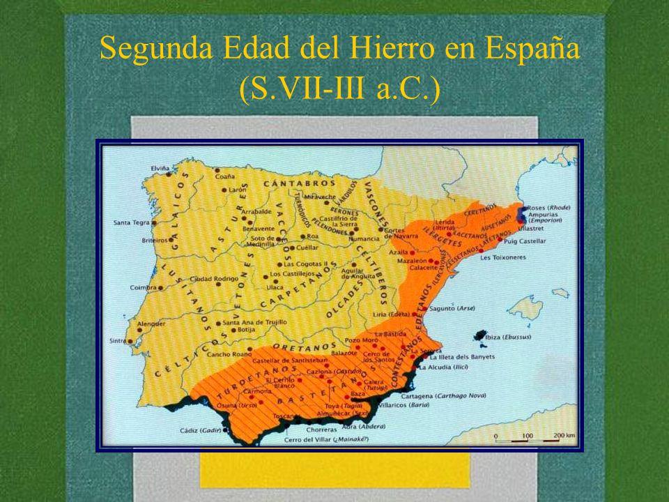 Segunda Edad del Hierro en España (S.VII-III a.C.)