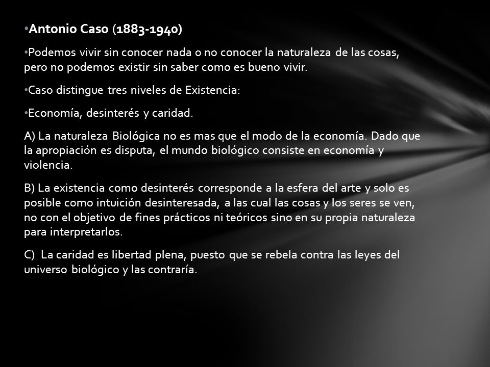 Antonio Caso (1883-1940)