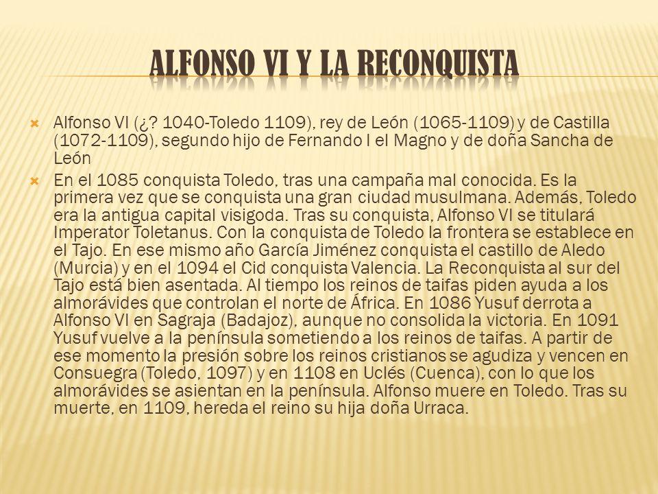 ALFONSO Vi Y LA RECONQUISTA