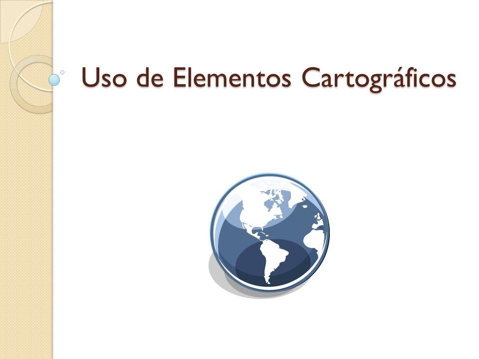 Uso de Elementos Cartográficos
