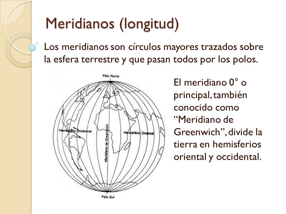 Meridianos (longitud)