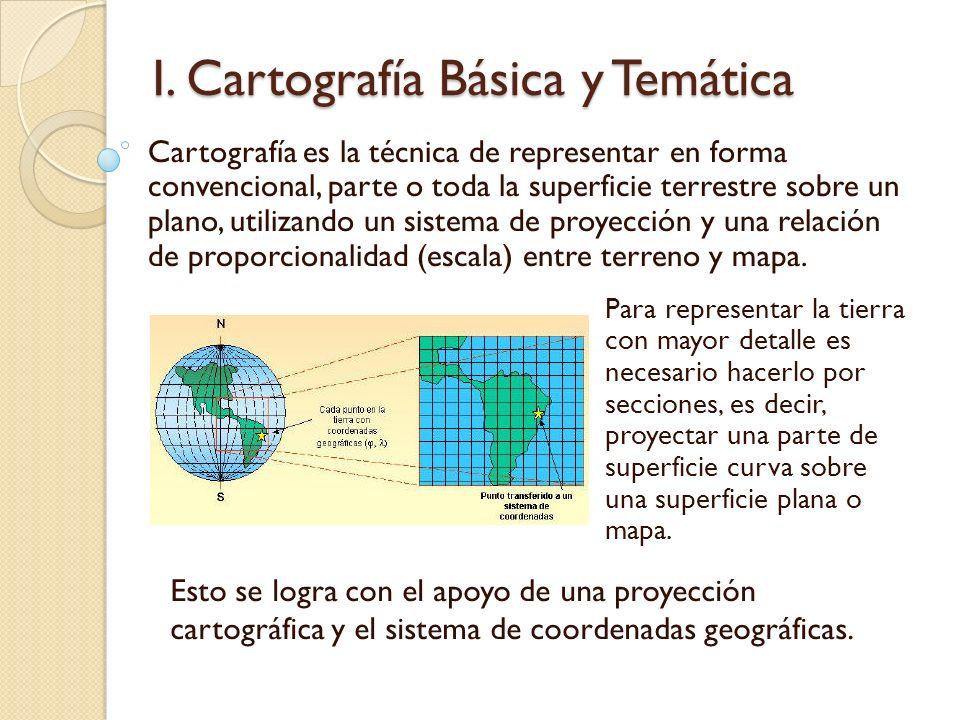 I. Cartografía Básica y Temática