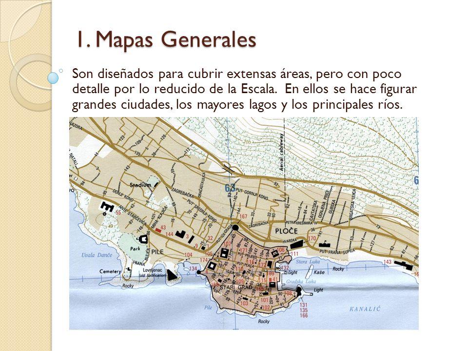 1. Mapas Generales