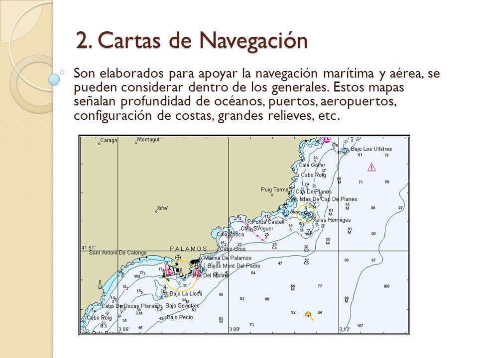 2. Cartas de Navegación