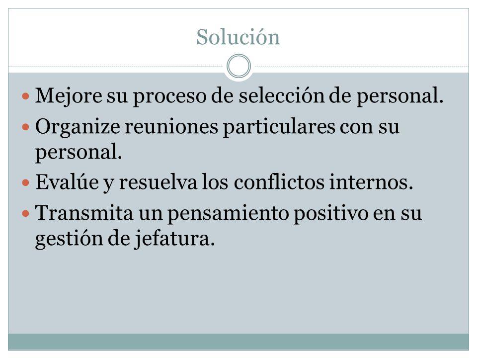 Solución Mejore su proceso de selección de personal.
