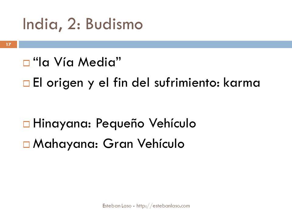 India, 2: Budismo la Vía Media