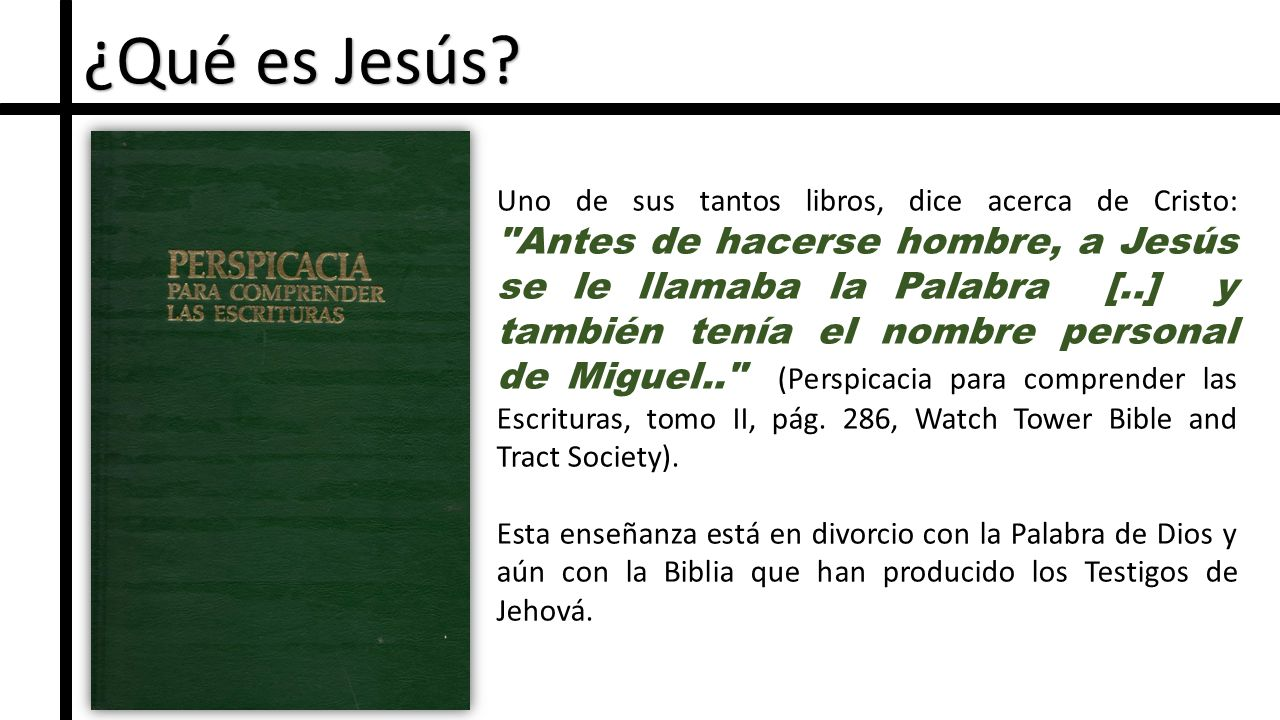 ¿Qué es Jesús