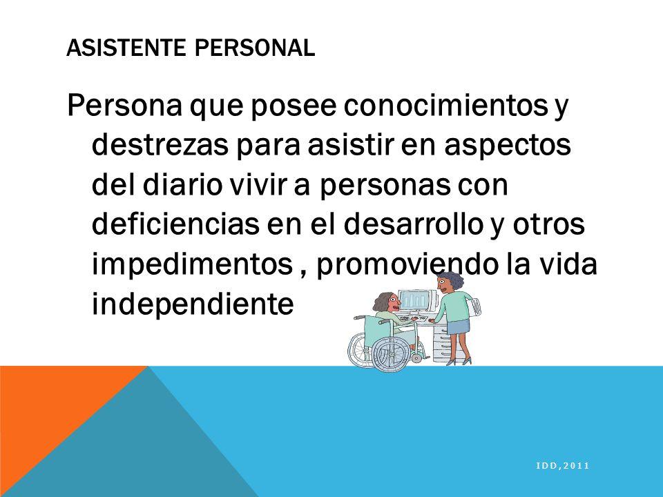 Asistente Personal