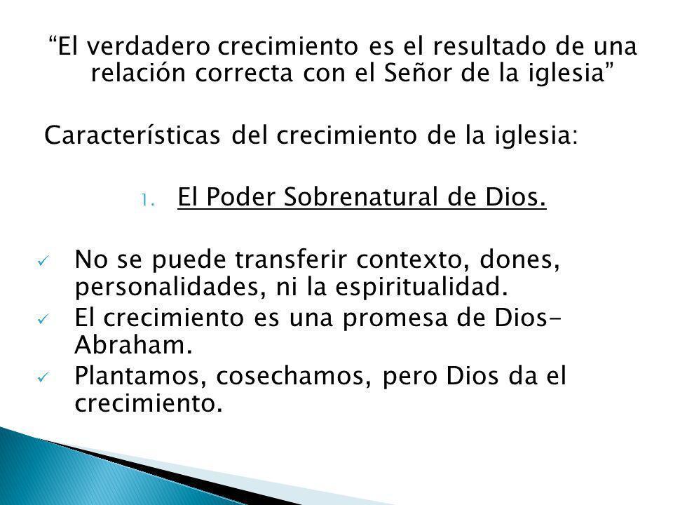 El Poder Sobrenatural de Dios.