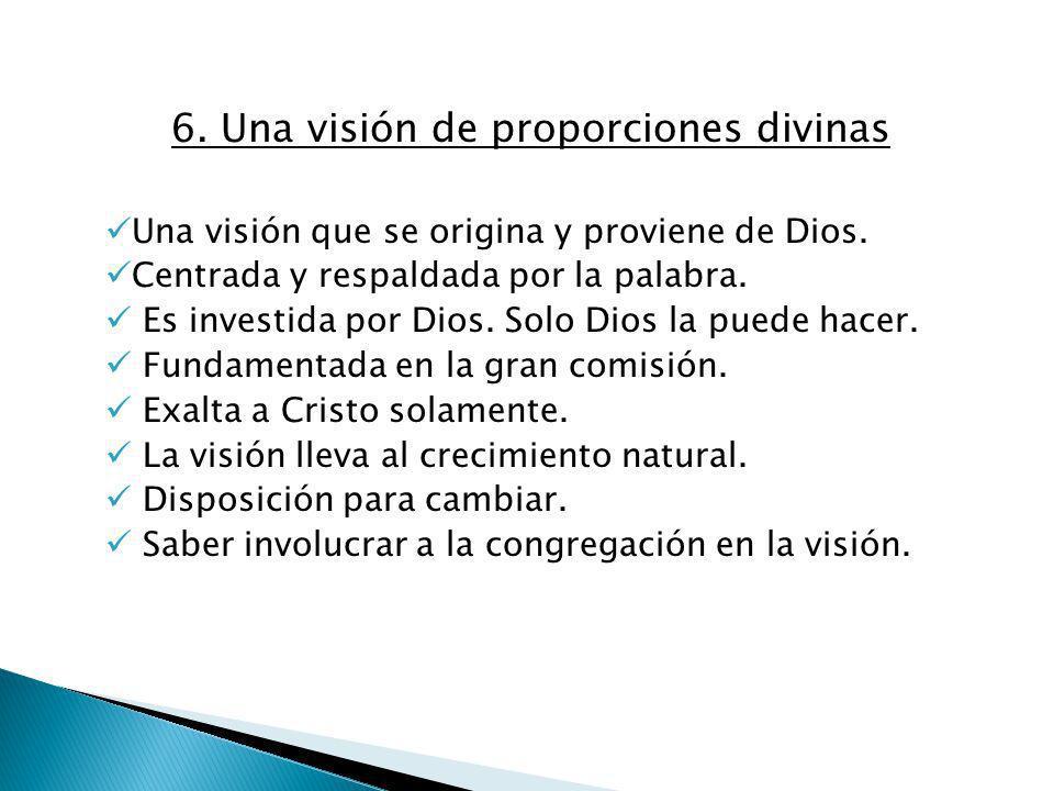 6. Una visión de proporciones divinas