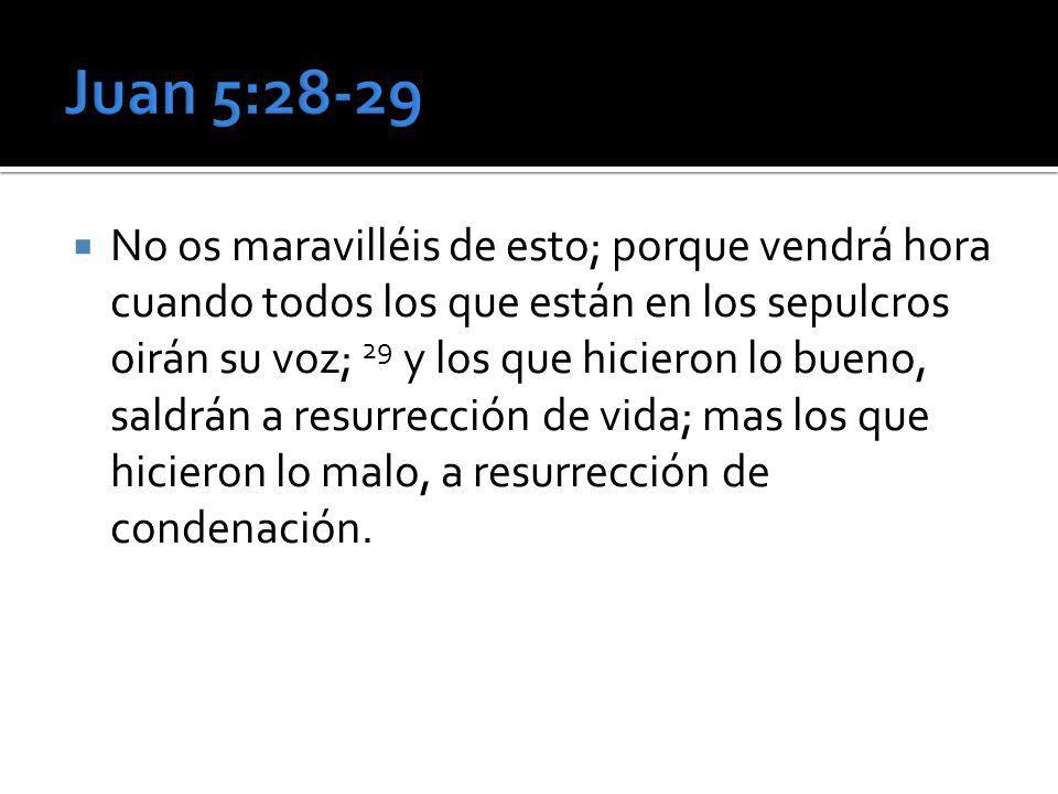 Juan 5:28-29