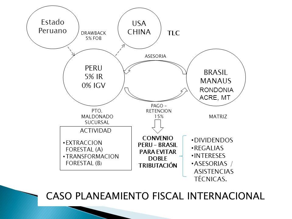 CASO PLANEAMIENTO FISCAL INTERNACIONAL