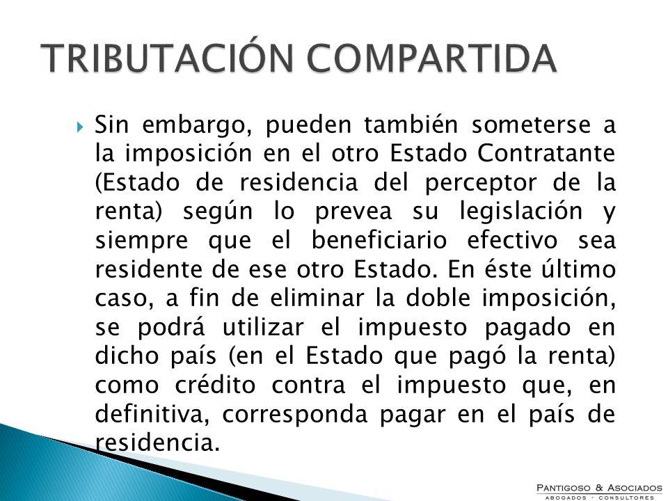 TRIBUTACIÓN COMPARTIDA