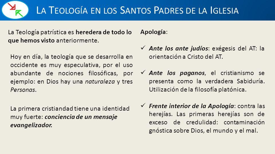 La Teología en los Santos Padres de la Iglesia