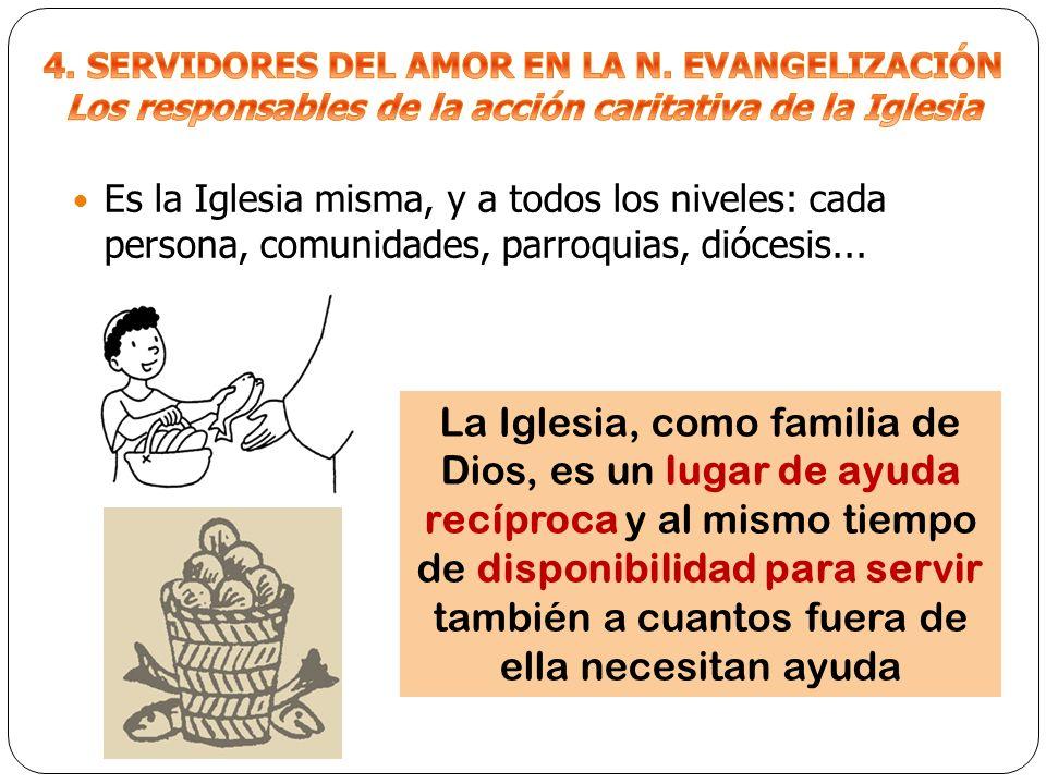 4. SERVIDORES DEL AMOR EN LA N. EVANGELIZACIÓN